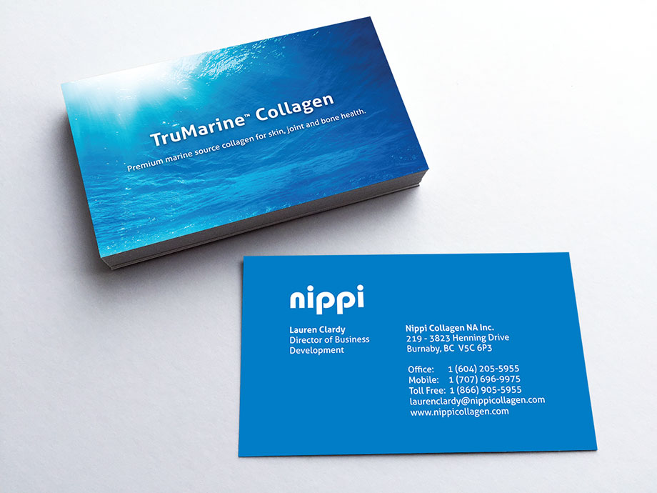 nippi-collagen-business-cards
